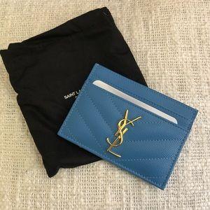 Ysl card wallet case